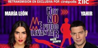 María León y Yahir darán un show de gran nivel vía Streaming con Hoy No Me Puedo Levantar