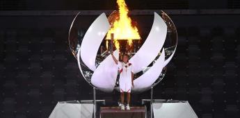 Quién es Naomi Osaka,  la mujer que encendió el pebetero