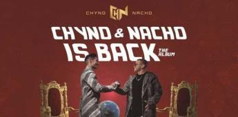 El iconico dúo venezolano de música pop urbana tropical chyno y nacho regresa con el lanzamiento del nuevo álbumchyno & nacho is back´