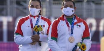 Tiro con Arco en mixtos da la primera medalla para México en Tokio