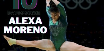 Diez datos sobre Alexa Moreno y su camino al triunfo de la gimnasia