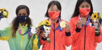 3 niñas arrasan en el deporte del skateboarding en Tokio 2020