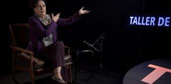 """La gran actriz Helena Rojo será la octava invitada en """"TAP, Taller de Actores Profesionales"""" serie de Canal Once."""