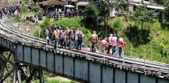 Colombia: Joven muere al lanzarse de un bongee sin tener la cuerda lista