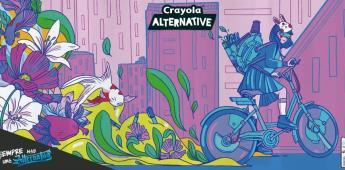 Crayola Alternative lleva el talento de artistas mexicanos a las calles de CDMX, Guadalajara y Monterrey.