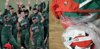 Denuncian a Selección de Sóftbol por tirar uniformes a la basura