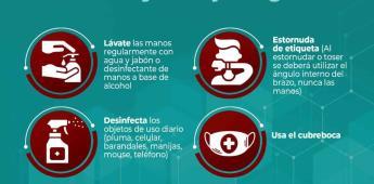 Llama Gobierno de Ensenada a respetar medidas preventivas contra el COVID-19