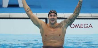 Caeleb Dressel el nadador estadounidense ganó la prueba más deseada de Tokyo 2020, después de una lucha contra la presión de los Juego Olímpicos