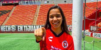 Paola Villamizar es nueva jugadora de Xolos femenil.