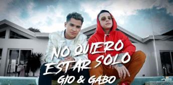 No quiero estar solo: La canción con la que Gio y Gabo evolucionan hacia el pop urbano