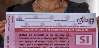 INE queda a deber en difusión de consulta: Morena .