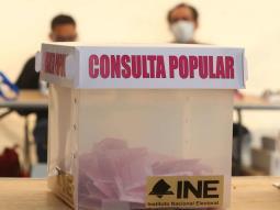INE reporta 476 incidentes durante la jornada de la consulta popular