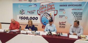 Torneo Internacional de pesca Copa Baja California dejó 7.6 millones de pesos de derrama económica