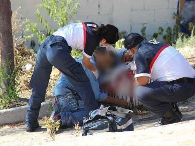 Asesinan a un masculino dentro de un parque en el Residencial del Bosque