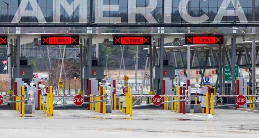 Frontera México y EU permanecerá cerrada al menos 2 meses más: Mayorkas