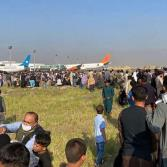 Aeropuerto de Afganistán: Desesperación y caos ante la entrada de Talibanes a Kabul