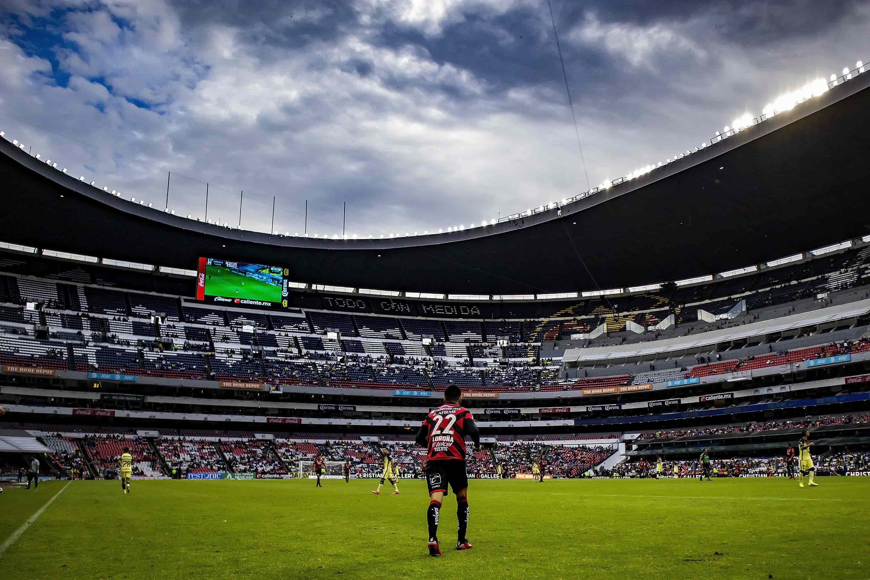 Marcador adverso en el Azteca