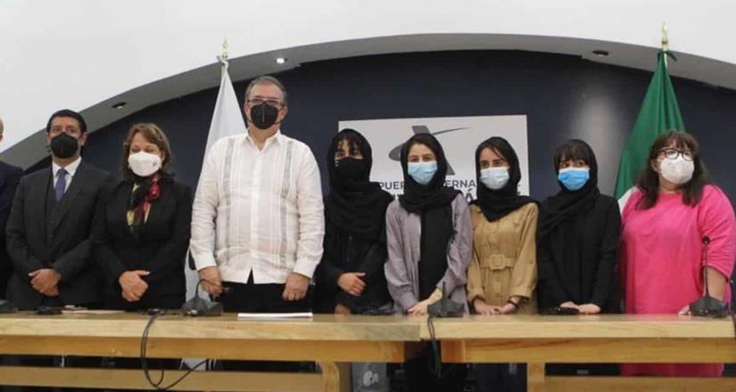 México salvó nuestras vidas; llegan refugiadas de Afganistán