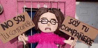 habemus demede:  Amenaza a Piñatería Ramírez con demandarlos por crear una figura con su imagen.