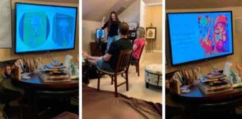 Mujer crea una presentación de PowerPoint para revelarle a sus padres que es stripper
