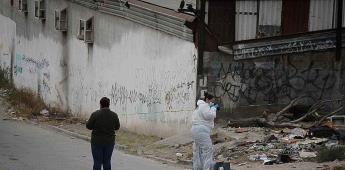 Esta mañana se encontró a una  persona encobijada con narco mensaje por la colonia Torres del Matamoros.