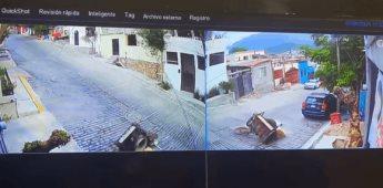 Elotero se vuelve viral luego de que se cae y alguien lo ayuda