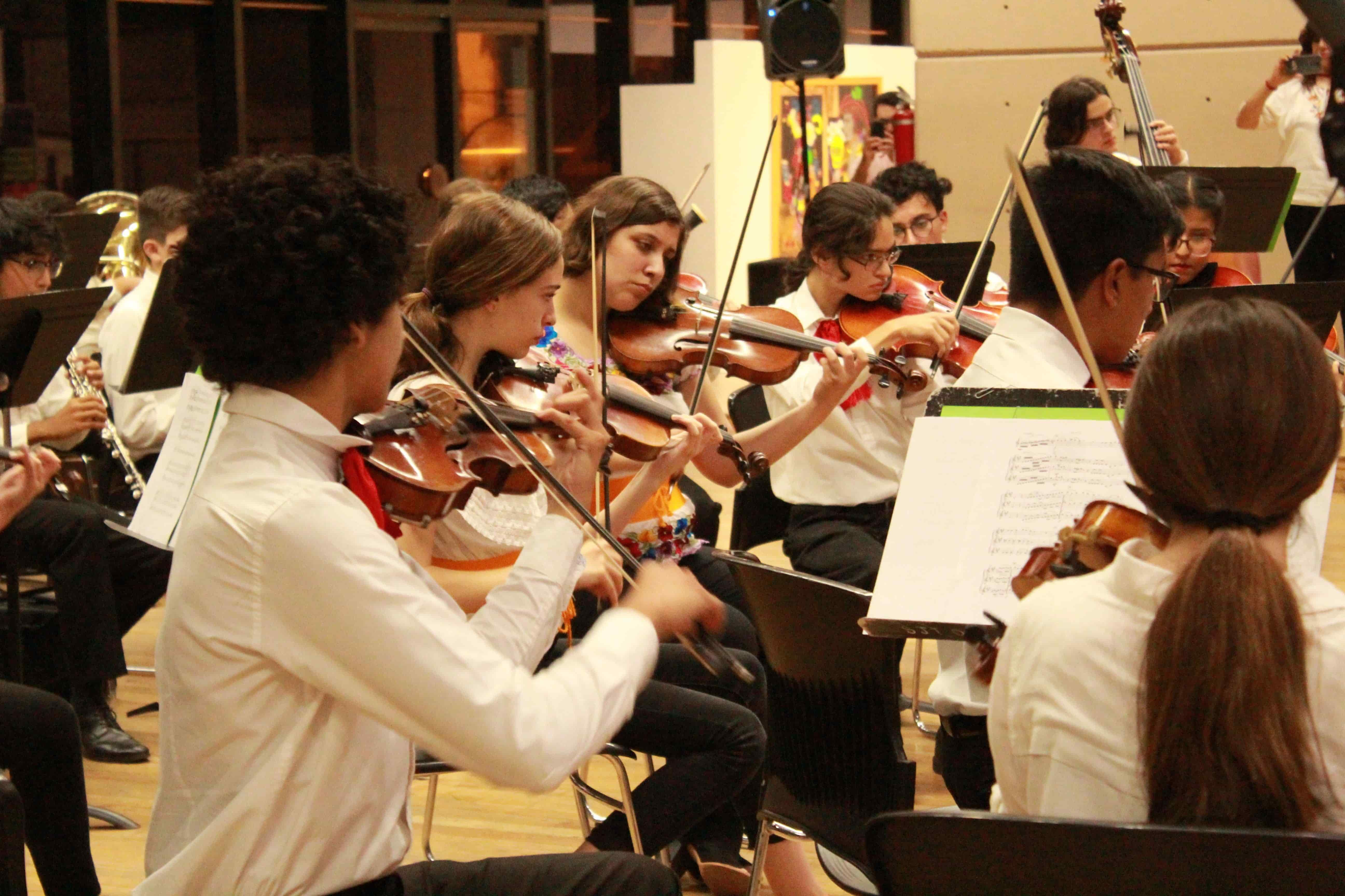 Presenta Sinfónica Juvenil Festival de la Mexicanidad
