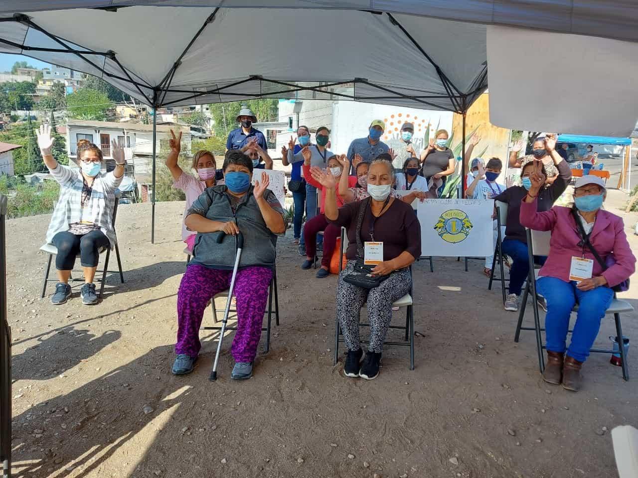 Realizan integrantes de Alianza Civil y Club de Leones jornada de Salud
