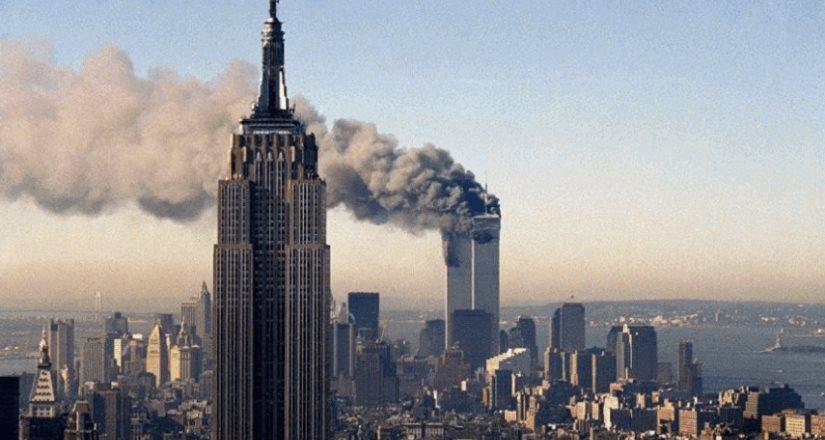 Así se vio desde el espacio el ataque del 11-S a las Torres Gemelas