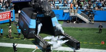 Espectacular pantera virtual aparece en el Bank of America Stadium