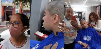 Se viraliza reacción de un padre de familia ante el corte de pelo de su hija