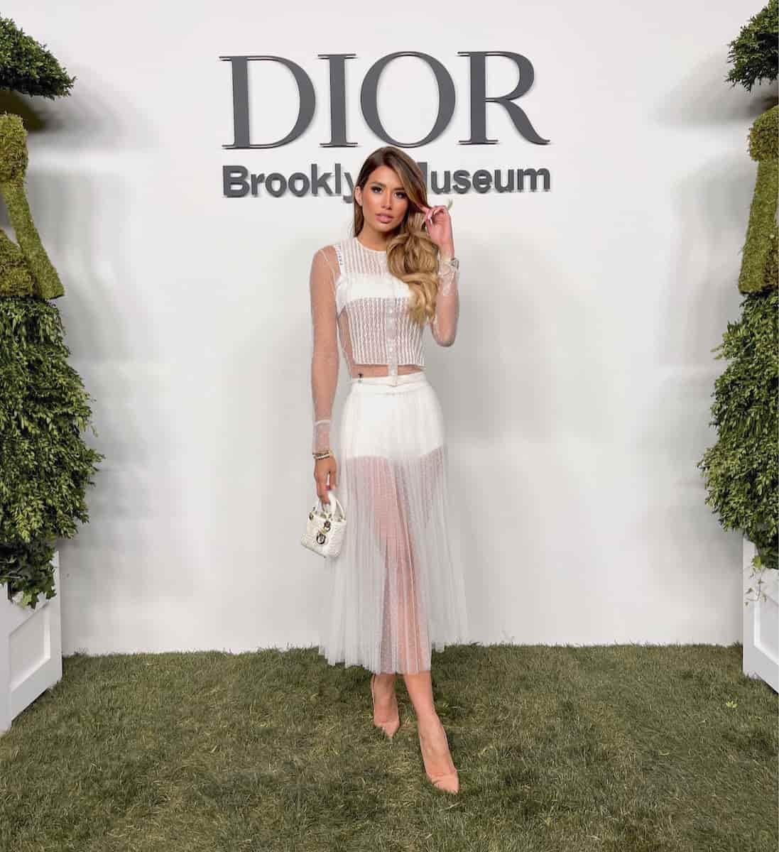 Bárbara Castellanos, top model revelación en el New York Fashion Week.