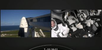 Despega el cohete Falcon 9 de Elon Musk con cuatro turistas al espacio