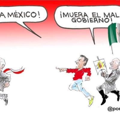 ¡Viva México! ¡Muera el mal gobierno!