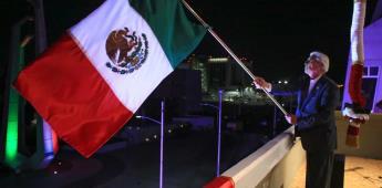 Encabezó Jaime Bonilla ceremonia del 211 aniversario de la independencia de México