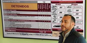 Aseguran en Tijuana más de 21 kilogramos de Metanfetamina