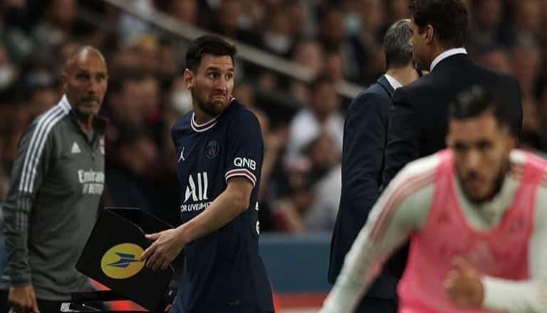 El desplante de Messi con Pochettino