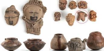 Cancelan subasta de piezas arquelógicas por ser ilícita