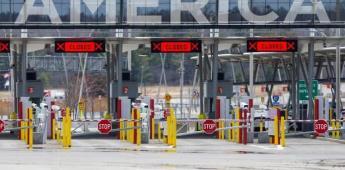 Estados Unidos extiende un mes más el cierre parcial de frontera con México