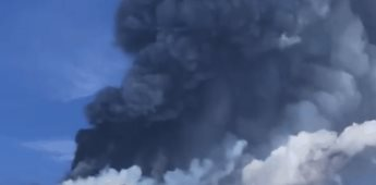 Volcán Etna registró actividad volcánica