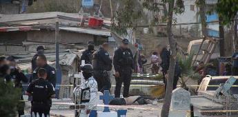 Policias se enfrentan frente al panteón municipal número nueve