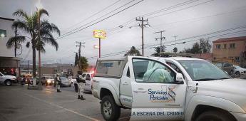 Un masculino resulto lesionado por arma de fuego esto en  bulevar Guadalajara de la colonia Jalisco.