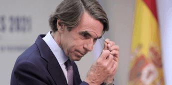No voy a engrosar las filas de los que piden perdón: José María Aznar