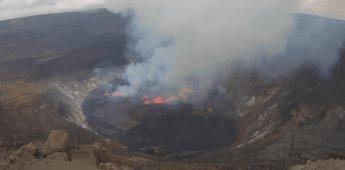 Kilauea entra en actividad y las autoridades están atentas ante cualquier cambio
