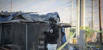 Esta mañana se localizó una mujer de aproximadamente 35 años de edad ejecutada en fraccionamiento Villa Fontana.