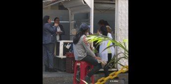 Joven canta La Llorona en un puesto de tacos y se hizo viral