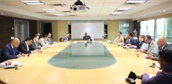 Participó en la Mesa de Seguridad de BC el presidente del tribunal superior de justicia del estado
