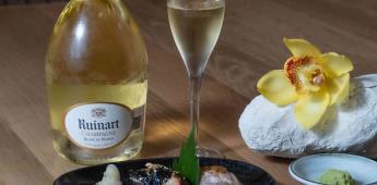 Yoshimi y Ruinart celebran la L´art de vivre con una experiencia gastronómica inédita