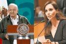 Lilly Téllez agradece a AMLO por mensaje tras amenazas de muerte