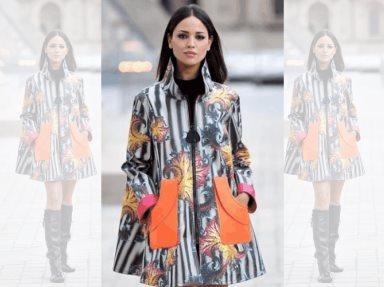 Eiza González enamora con su look en París Fashion Week